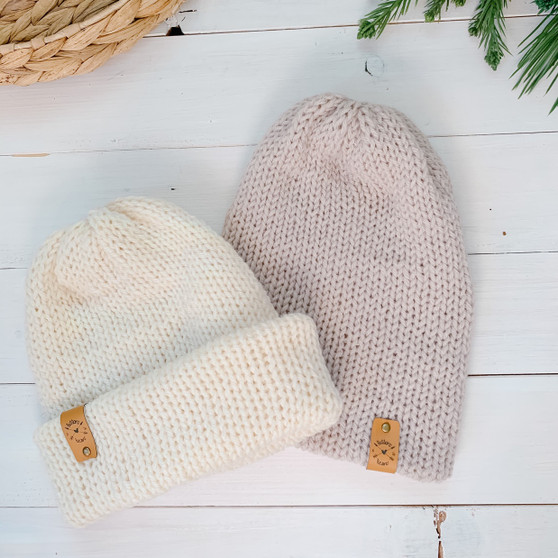 Double Knit Hat   Newborn to Adult   Made to Order