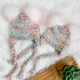 Bear Ear or Pompom Aviator Hat    Newborn to Child   Made to Order