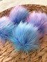 Master Faux Fur Pompom | Ties or Snaps