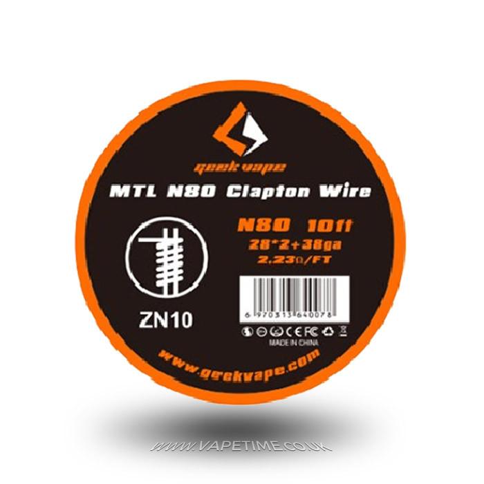 MTL N80 Clapton Wire by GeekVape