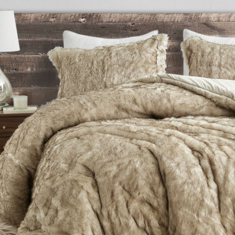 Thick Plush Twin, Queen, or King Comforter with Matching Pillow Shams