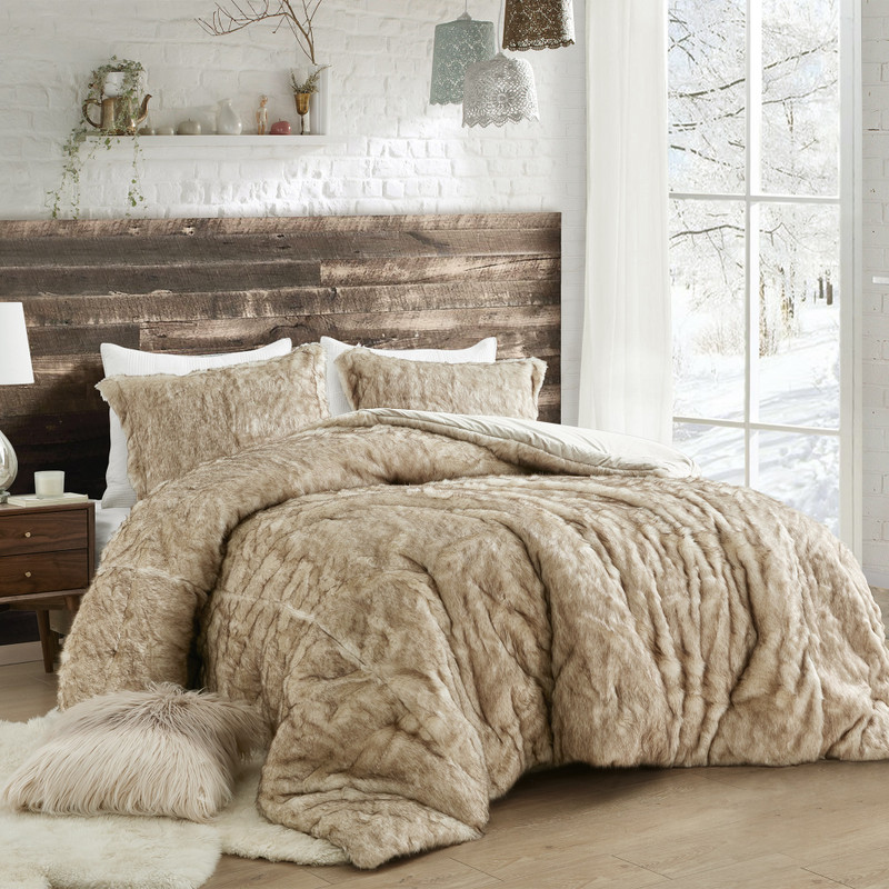 Coma Inducer Tundra Brown Arctic Bear Twin XL, Queen XL, or King XL Blanket