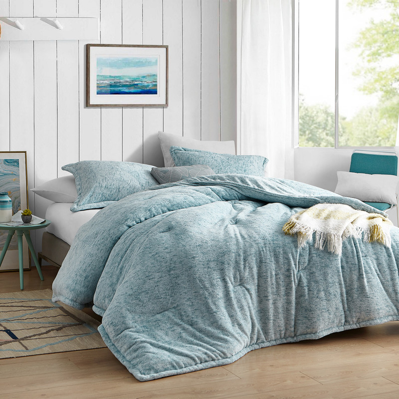 Stylish Blue Twin, Queen, or King Bedding Streaker Coma Inducer Comforter Made with Luxury Plush