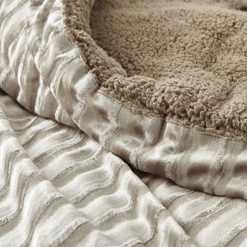 High Quality Twin XL, Queen XL, or King XL Bedding Made with Soft Velvet and Plush Fleece Material