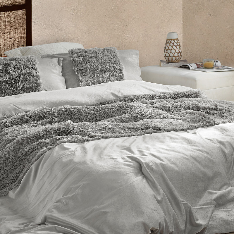 Insanely Soft Twin, Queen, or King Bedding Blanket Made with Long Plush Strands and Shorter Smooth Plush Bedding Material