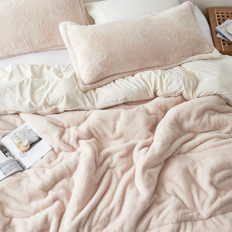 Restore Faith with High Quality Oversized King Luxury Plush Comforter Sets
