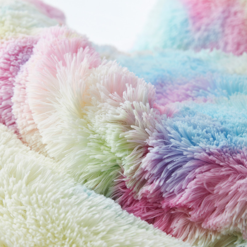 Easy to Wash Plush Twin, Queen, or King Extra Large Bedding Multicolor Bedding Set