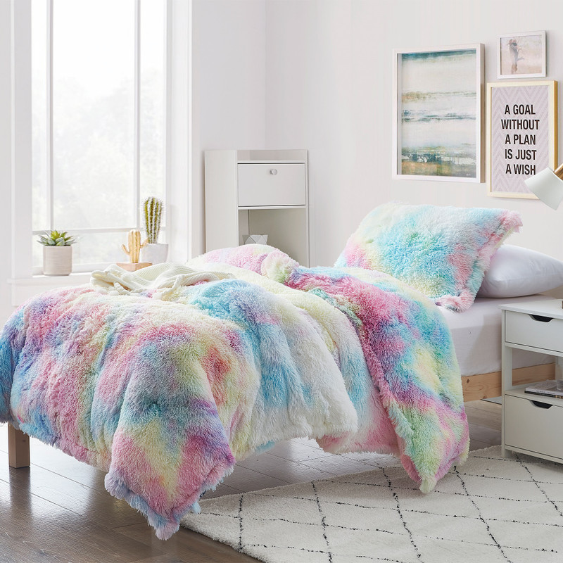 Colorful Coma Inducer Blanket with Cozy Thick Inner Fill