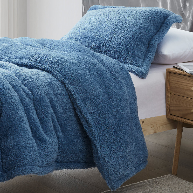 Extra Large Twin, Queen, or King Plush Bedding with Extra Long and Extra Wide Bedding Dimensions