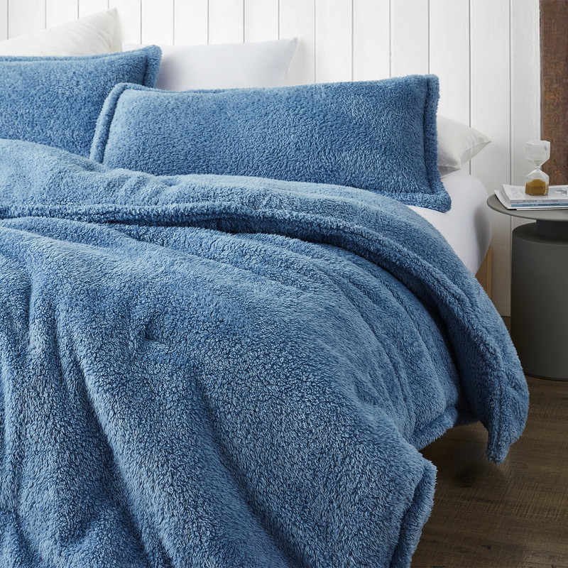 Stylish Blue Twin, Queen, or King Extra Large Bedding Hollywood Coma Inducer Bedding Blanket
