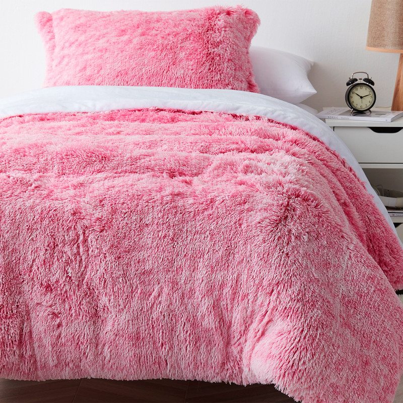 Machine Washable Plush Twin, Queen, or King Oversized Bedspread