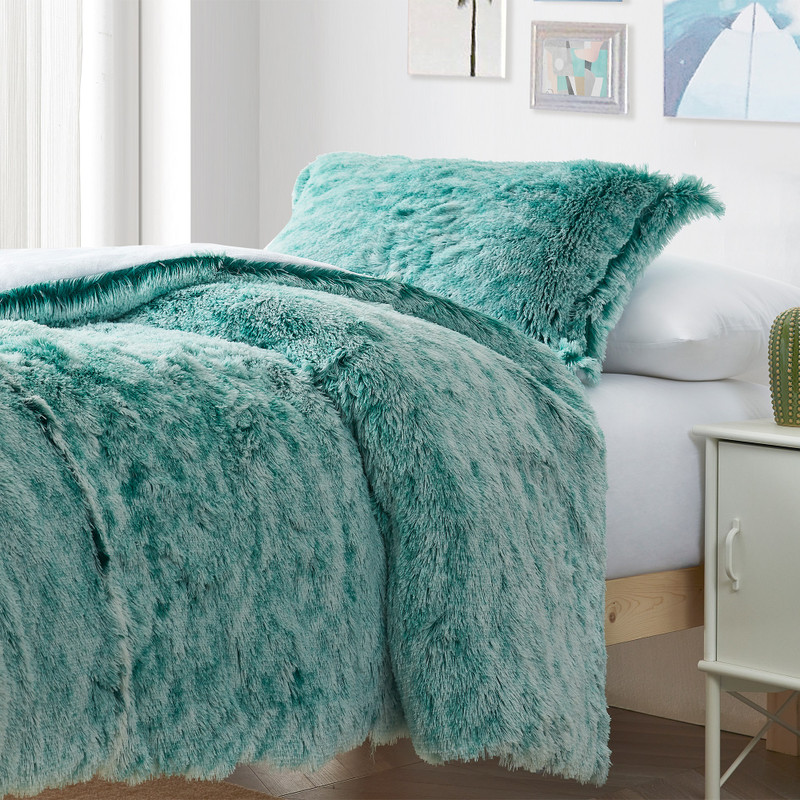 XL Twin, XL Queen, or XL King Plush Comforter with Extra Length and Extra Width