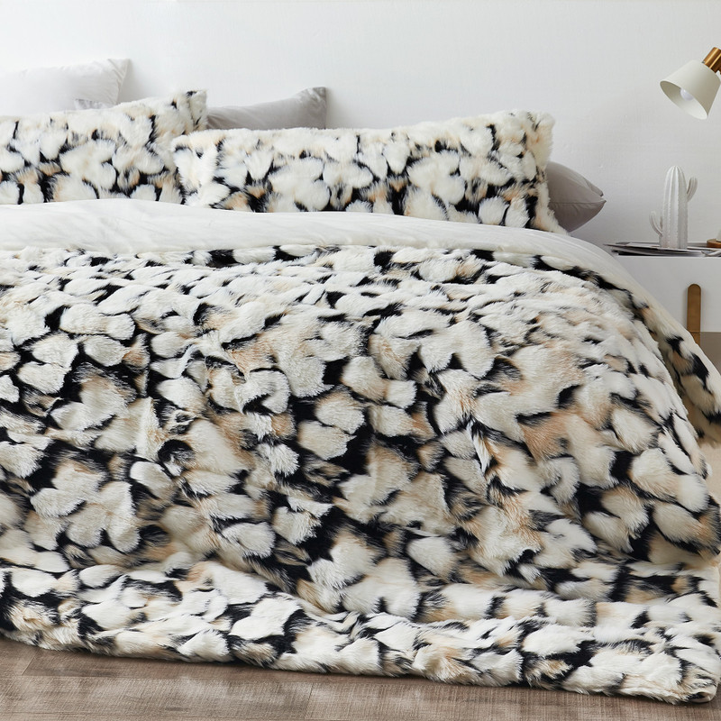 Neutral XL Twin, XL Queen, or XL King Bedding with True Oversized Dimensions