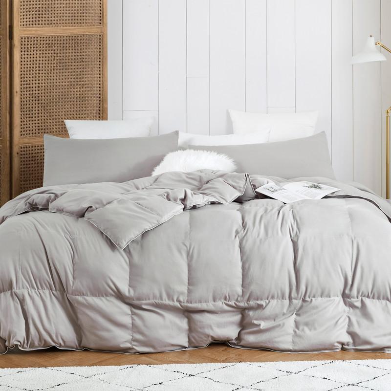 Silver Gray XL Twin, XL Queen, XL King, Alaskan King, or Extra Large Alaskan King Comforter Set