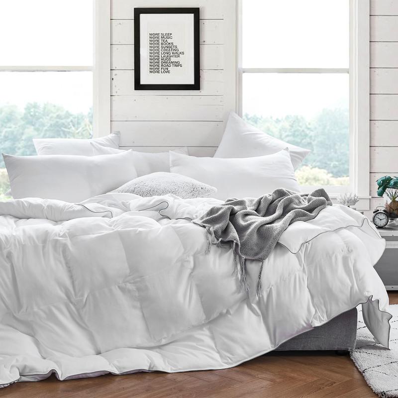 Super Soft Microfiber XL Twin, XL Queen, XL King, or Oversized Alaskan King Comforter Set