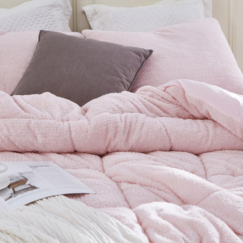 Single Pillow Sham Standard or King Soft Plush Bedding Accessories