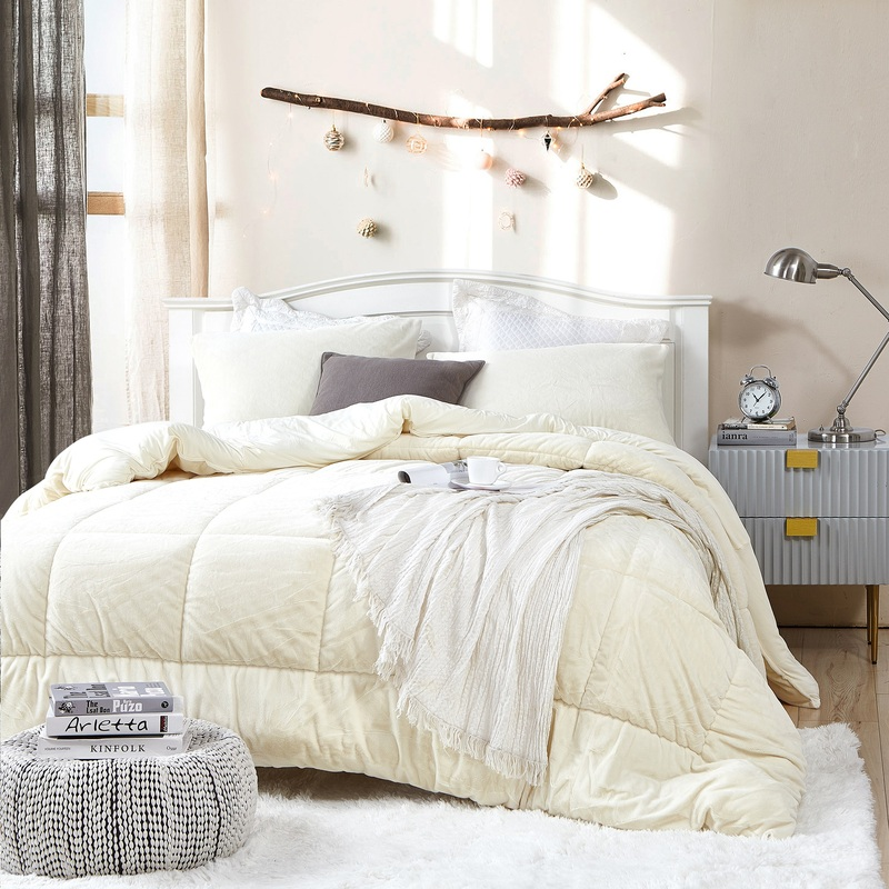True Oversized Twin, Full, Queen, or King Plush Blanket Extra large Coma Inducer Comforter