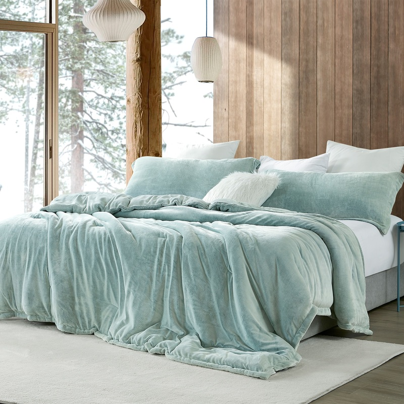 Stylish Green Bedroom Decor Ideas Coma Inducer Super Soft Plush Twin, Queen, or King Oversize Bedding