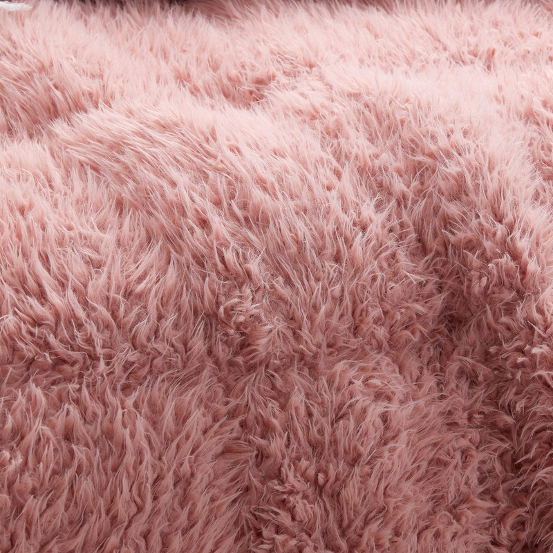 Oversized Bedspread Made with Plush Berber Fleece and Super Soft Bare Bottom Bedding Material