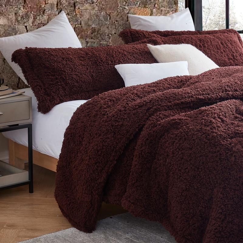 Burgundy Brown XL Twin, XL Queen, or XL King Blanket