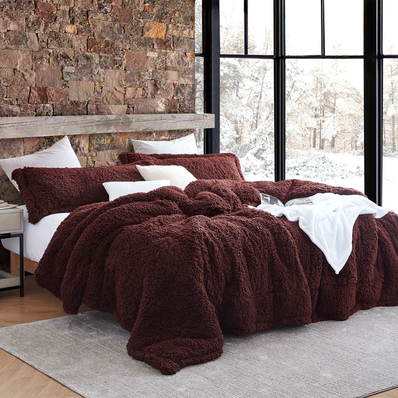 True Oversized Bedding Extra Large Comforter Made with Warm and Cozy Coma Inducer Plush
