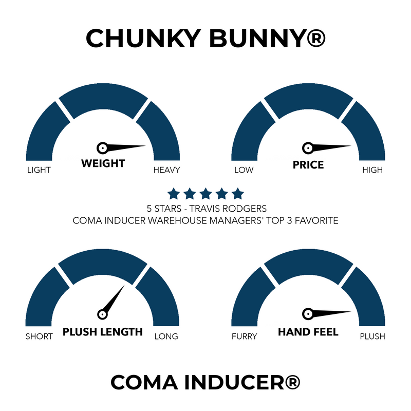 Chunky Bunny - Coma Inducer® Oversized Comforter - Rabbit Black