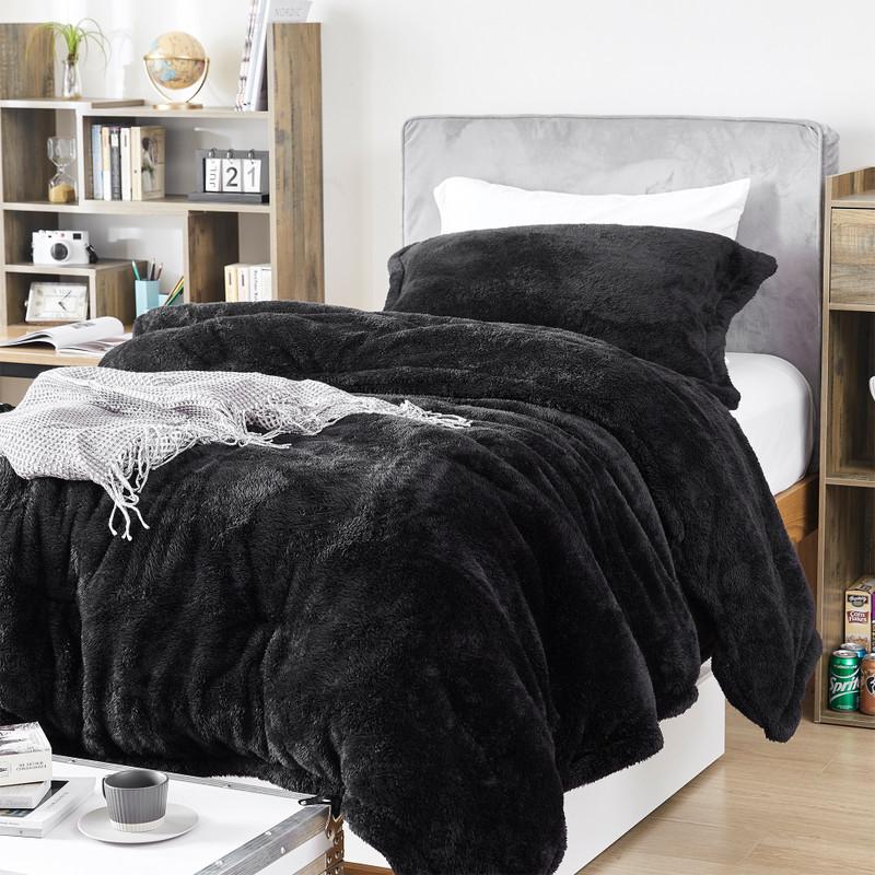Coma Inducer Bedding Blanket Nightshift Black Neutral Twin XL, Full XL, Queen XL, or King XL Bedding Decor
