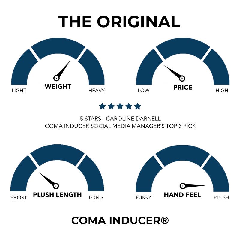 Coma Inducer® Oversized Comforter - The Original Plush - Nightshift Black