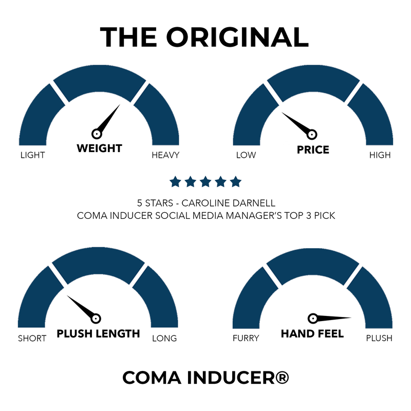 Coma Inducer® Oversized Comforter - The Original Plush - Natural Taupe