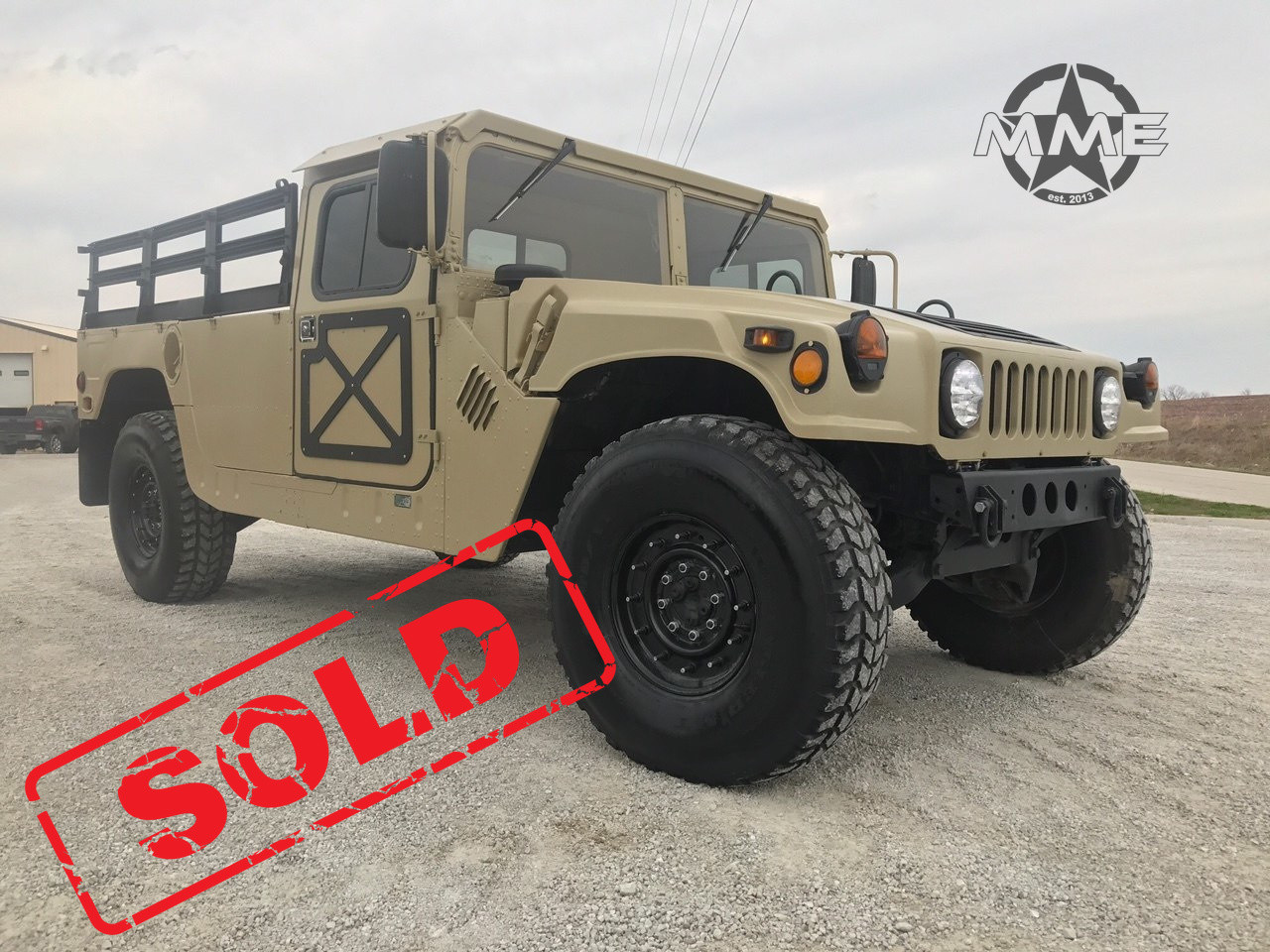 M1111 MILITARY Hard Top H11 HUMMER MILITARY TRUCK ON-ROAD TITLE | military h1 hummer