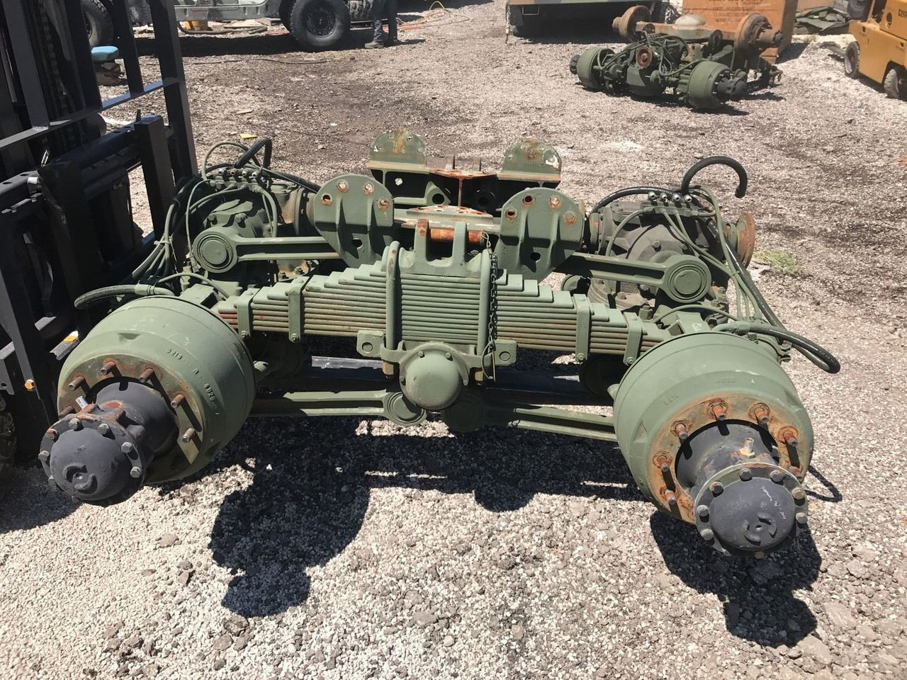 Rear Rockwell 5 Ton Axle M900 Series M923 M934 M931 Bmy Tandem Midwest Military Equipment