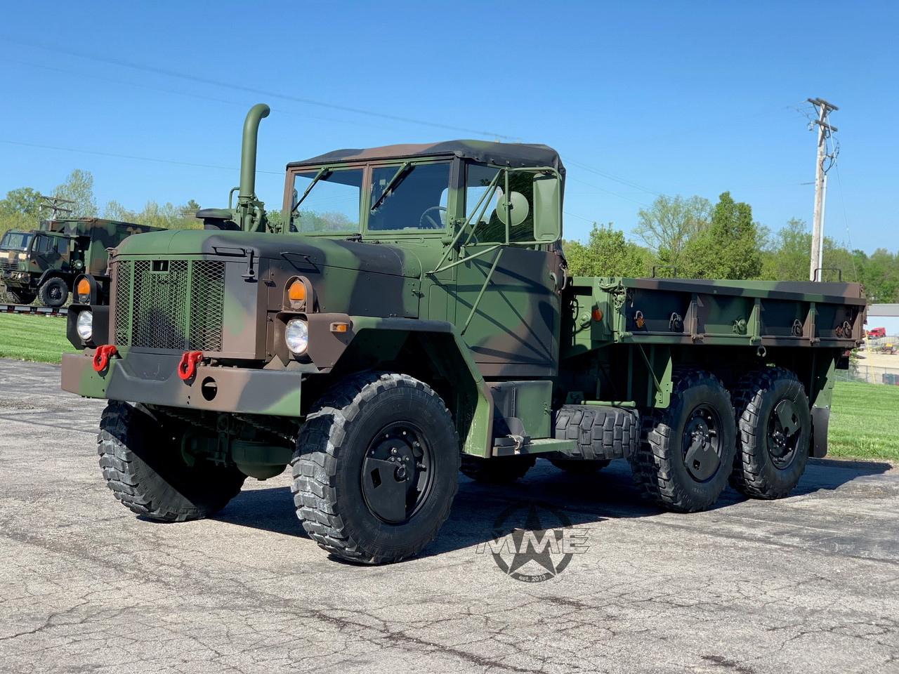 1993 Am General M35a3 2 1 2 Ton 6x6 Cargo Truck Midwest Military