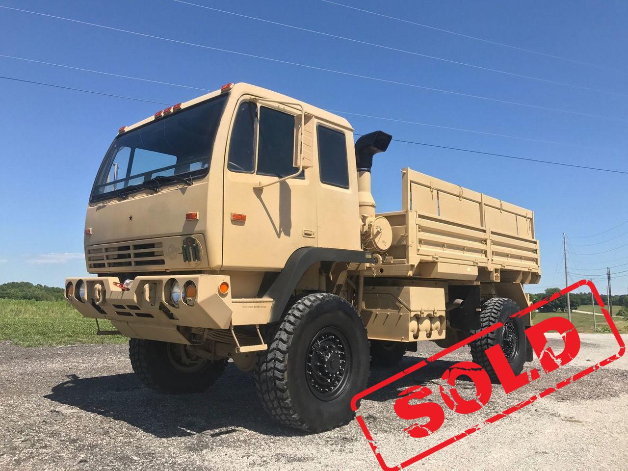 2000 Stewart And Stevenson M1078 Military 4x4 Lmtv Fmtv Truck Emp Unimog Midwest Military Equipment