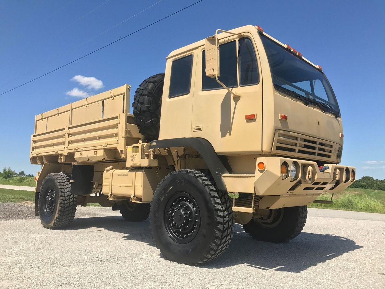 Sold 2000 Stewart And Stevenson M1078 Military 4x4 Lmtv Fmtv Truck