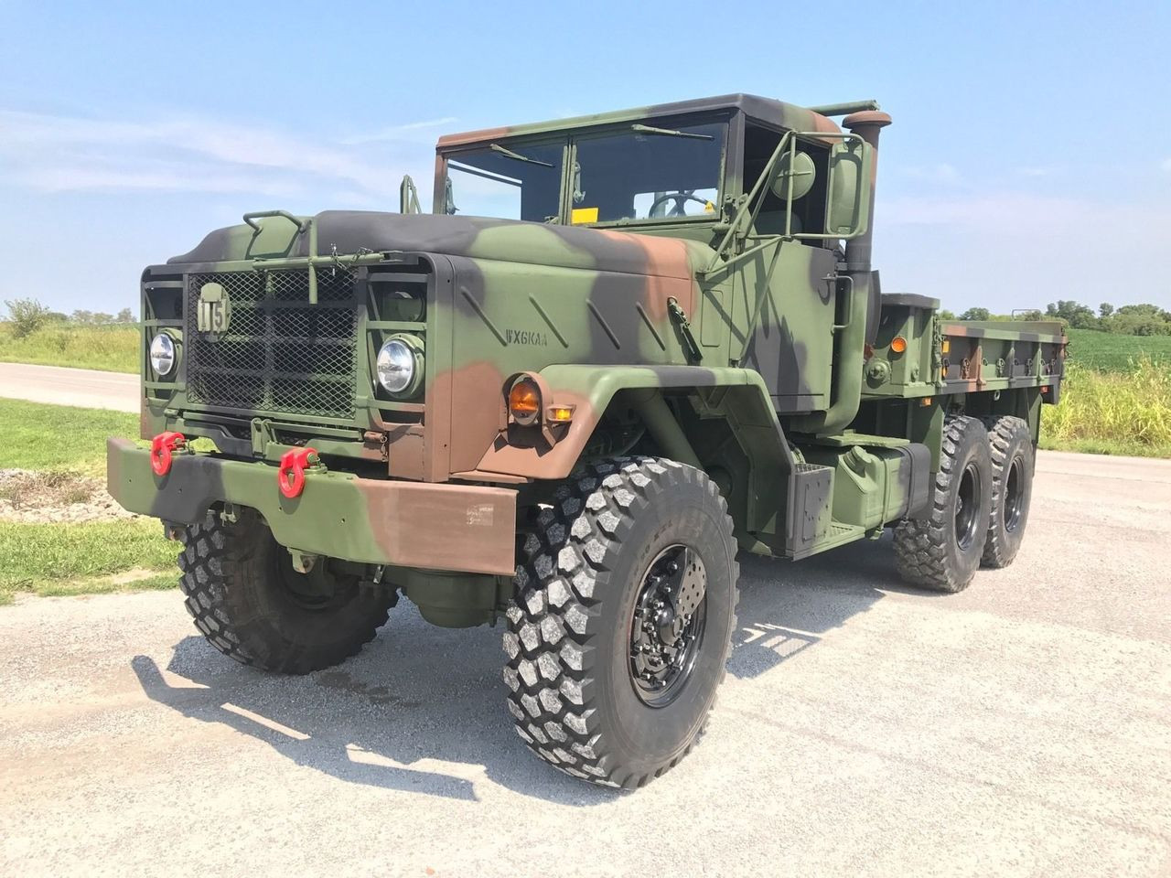 Bmy M923a2 Military 6x6 Cargo Truck 5 Ton Midwest Military Equipment