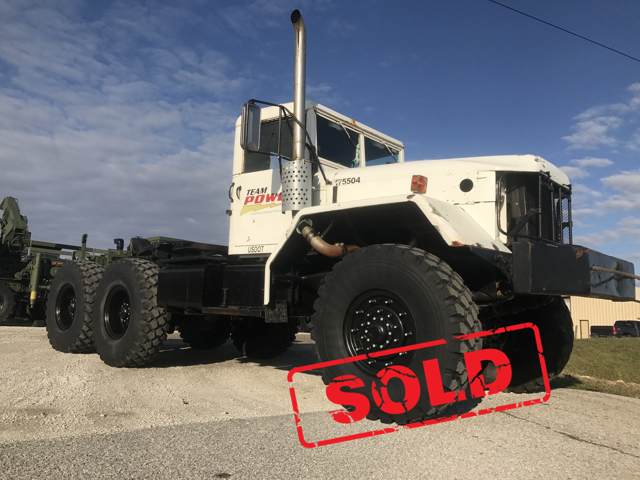 M818 Military 6x6 5 Ton 6x6 Semi Truck Sold Midwest Military Equipment