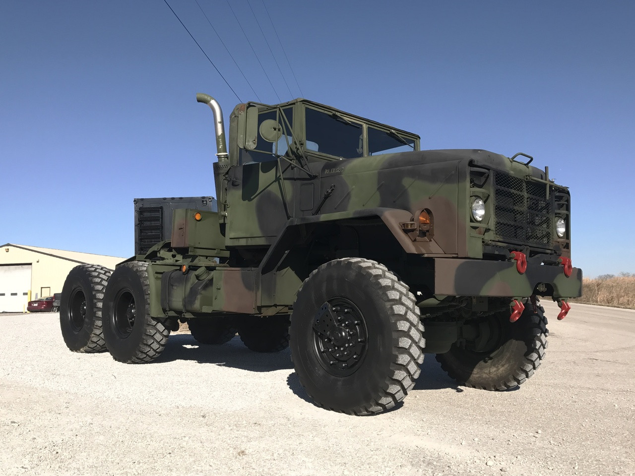 Rebuilt Bmy 5 Ton M931a2 Military Semi Truck 6x6 Midwest Military