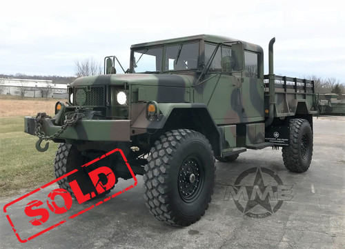 1985 Am General M35 Bobbed Deuce and a half - Midwest Military Equipment