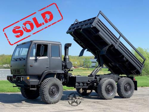 Stewart & Stevenson M1086 6x6 5 Ton Cargo Truck With