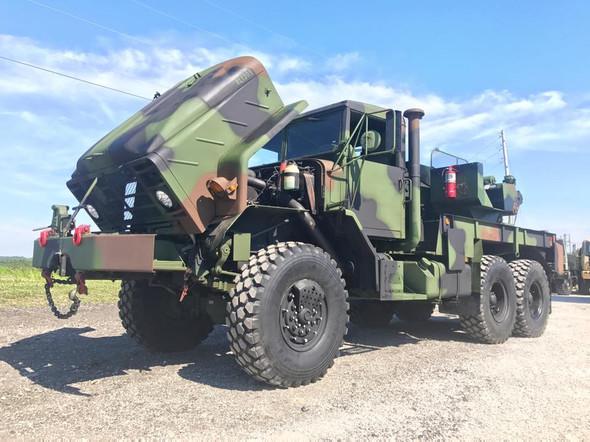 BMY 2009 Rebuild M936a2 Wrecker 5 ton Military Truck SOLD