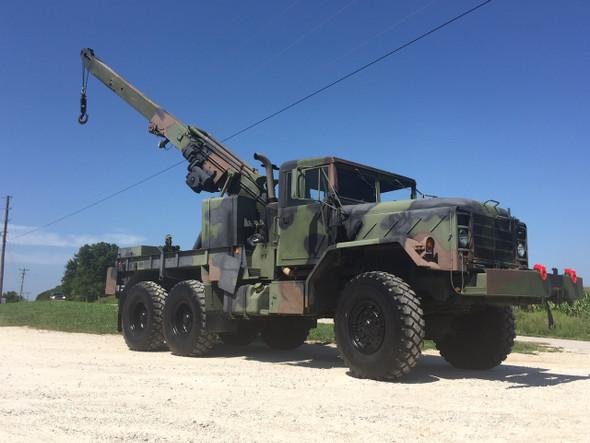 M936A2 5 Ton Military Wrecker Crane Truck SOLD