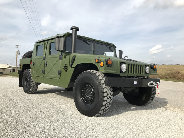 "Green 4 MAN HMMWV M1123 1/4"" ALUMINUM HARD TOP HUMVEE"