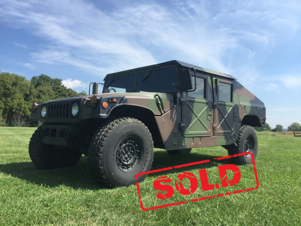 "MME Built M1123 Humvee HMMWV With 1/4"" Aluminum Slant Back Kit SOLD"