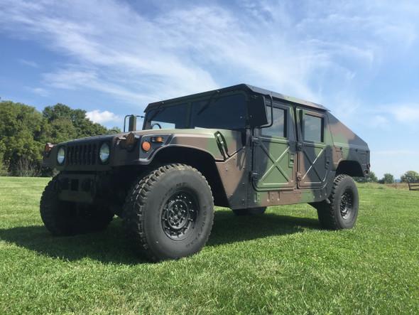 """MME Built M1123 Humvee HMMWV With 1/4"""" Aluminum Slant Back Kit SOLD"""