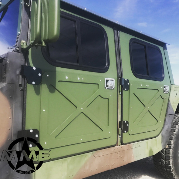 "1/4"" Aluminum Hard Door Kit FOR HMMWV/ HUMVEE"