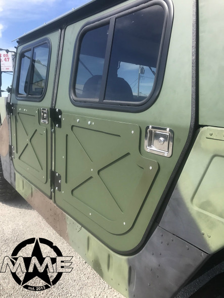 NEW Aluminum Hard Door Kit (set of 4) FOR HMMWV/ HUMVEE