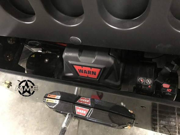 Front Winch Mount With Winch For HMMWV HUMVEE
