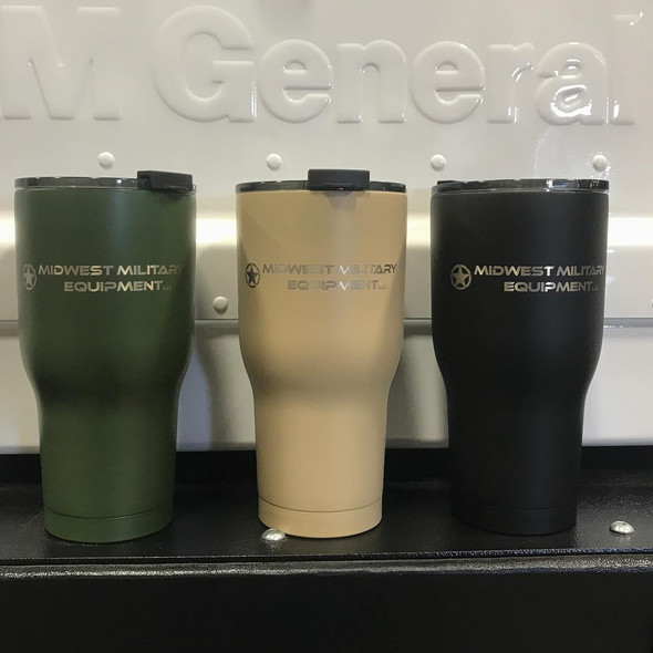 MME RTIC 30 oz Tumbler - Powder Coated Power Coated Mil-Spec Colors