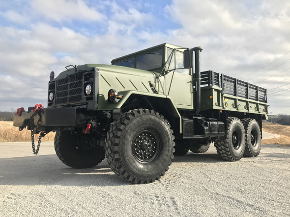 M925A2 5 TON MILITARY 6 X 6 Cargo TRUCK WITH WINCH
