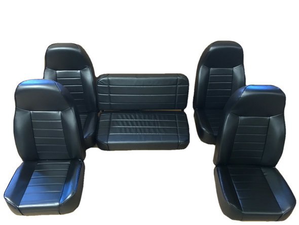 Black Vinyl Seats (includes bench seat)